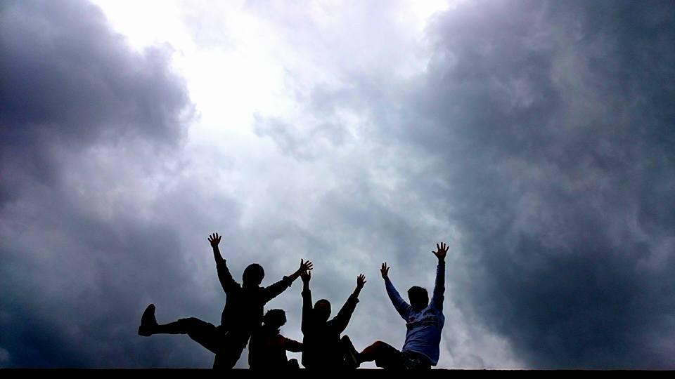 屋上撮影会