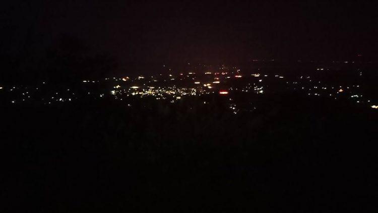 乙羽岳夜景