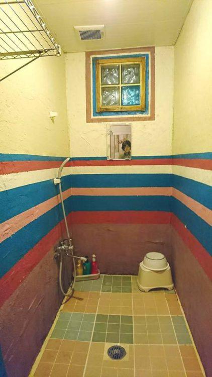 旧シャワールーム