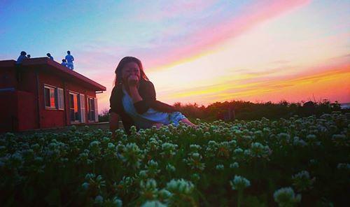結家の花咲くオニワ