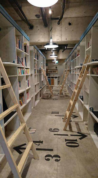 【泊まれる本屋さんBook in】
