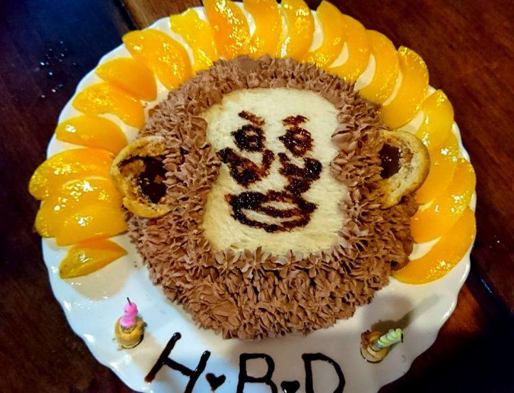 HBDケーキ